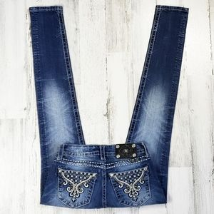 Miss Me Signature Rise Skinny Jean's.  Size 26.
